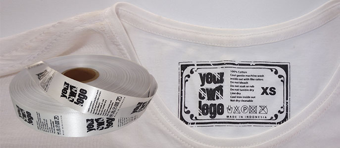 Have your own custom Label on your tshirts